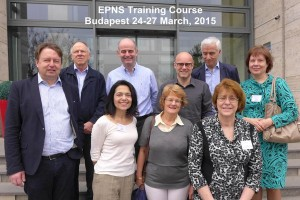 EPNS training course Budapest 2015 faculty