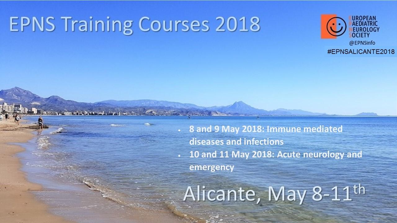 Epns Epns Training Course 2018 Alicante
